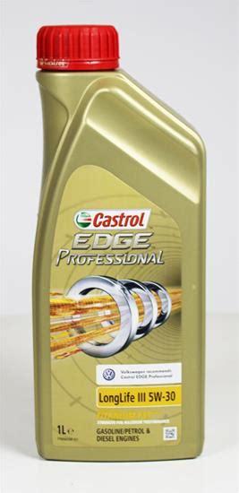 castrol edge professional longlife iii 5w 30 motorolie castrol edge longlife iii billig 5w30