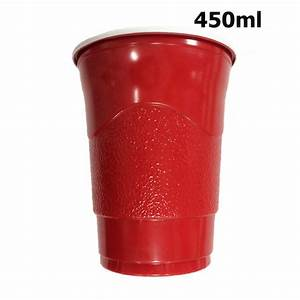 20pcs 450ml Magic Solo Squared Red Shot Party Cup Beer ...