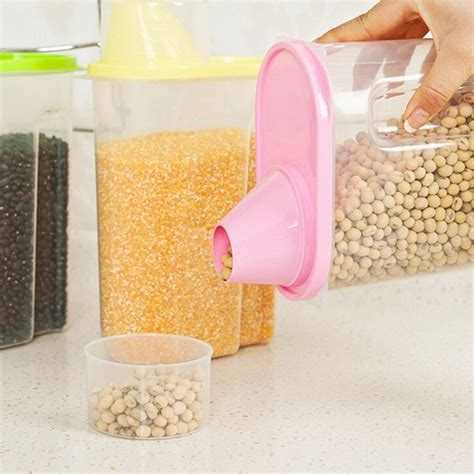kitchen plastic storage large plastic food storage containers kitchen accessories 2442