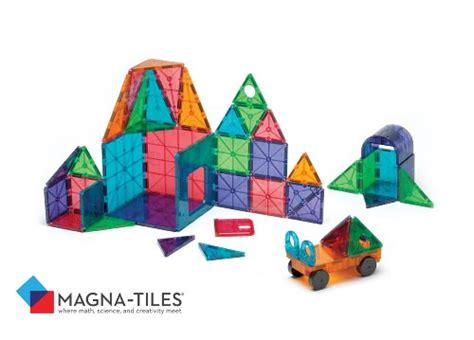 magna tiles clear colors 100 pc set the best on stem toys to engage boys brain