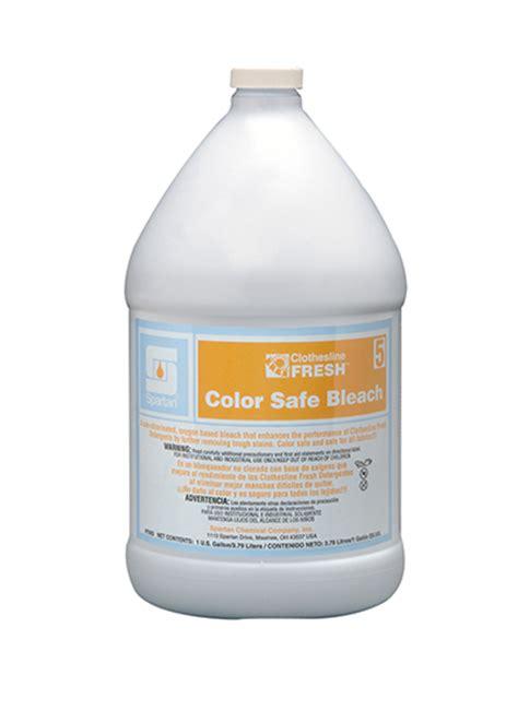 clothesline fresh color safe bleach  spartan chemical