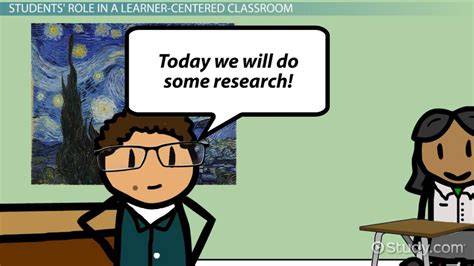 student roles   learner centered environment video