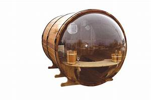 Design Sauna Mit Glas : fasssauna futuristisches design sauna zu hause ~ Sanjose-hotels-ca.com Haus und Dekorationen