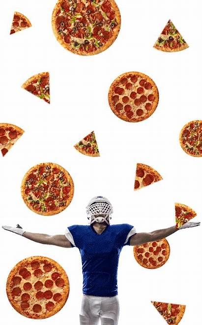Pizza Animated Gifs Raining Animations Delicious Football