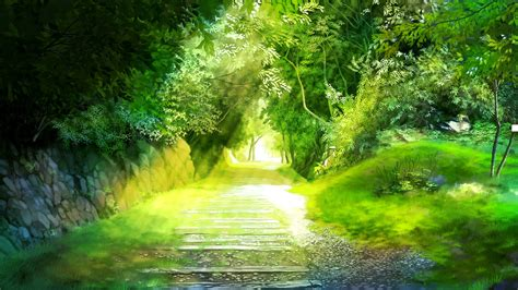 Forest Anime Wallpaper - anime forest background 183 free stunning high
