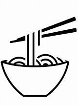 Noodles Coloring Kleurplaat Eten Drinken Persoonlijke Maak Calendar Vormen sketch template