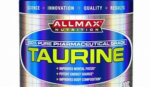 The Top 5 Taurine Supplements Of 2019  U2013 Healthranks Org
