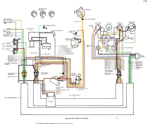 Yamaha Outboard Electrical Wiring Diagram Wiringdiagram