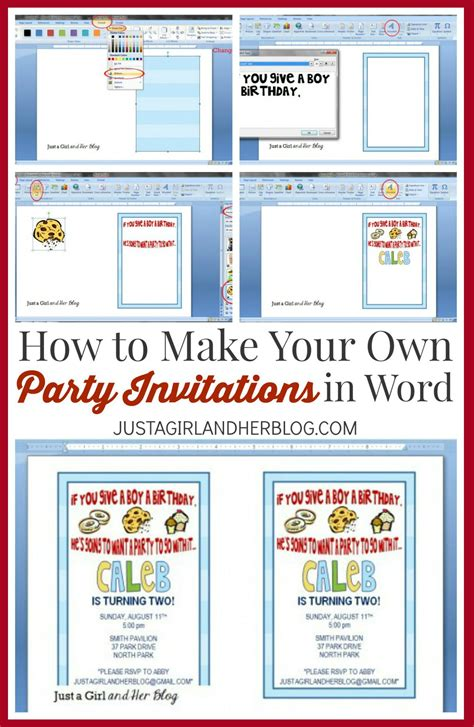Make Your Own Party Invitations  Party Invitations Templates