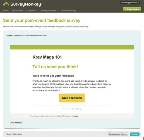 survey email template survey email invitation templates