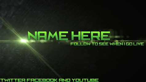Twitch Be Right Back Screen Template How To by Green Optic Flare Twitch Scene Free By Wombalar On Deviantart