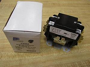 Packard C230a 2 Pole Coil Contactor  30 Amp  24v