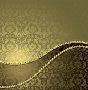 Elegant Vintage Gold Vector Pattern Backgrounds - WeLoveSoLo
