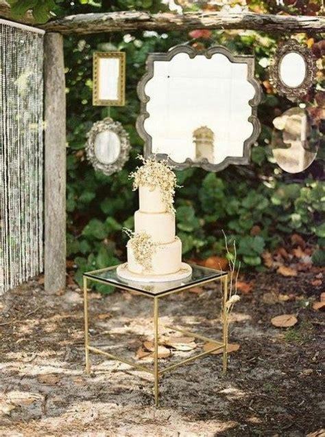 creative mirror wedding decor ideas weddingomania
