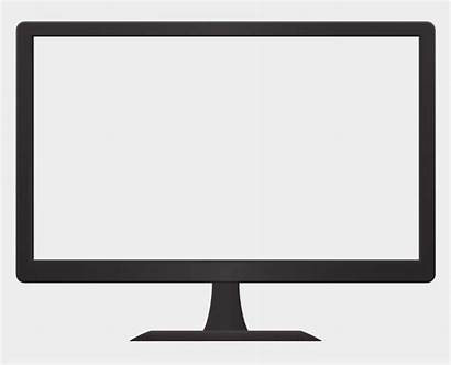Computer Monitor Clipart Screen Library Transparent Cliparts