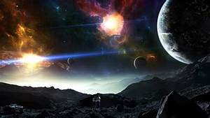 Planets In Space Wallpaper Hd : Wallpapers13.com