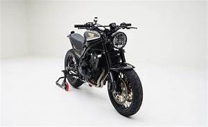 Custom Honda CB500 'S' Scrambler Motorcycle + CBR Parts ...