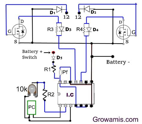 500 watt inverter circuit diagram using mosfet grow amis