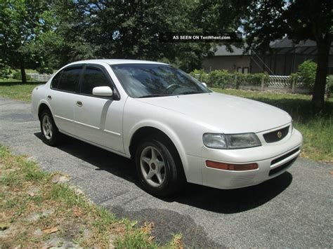 1995 Nissan Maxima Gxe Sedan 3 0l  Very, , No Rust