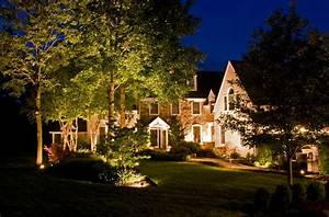 Ambler landscape lighting installation landscaping