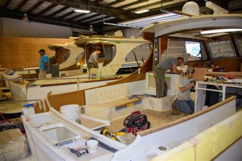Hinckley Boat Construction hinckley yachts factory tour where cruising dreams come true