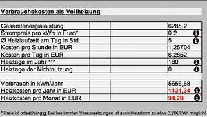 Rendite Pro Jahr Berechnen : infrarotheizung verbrauch f r strom und kosten berechnen jahr monat infrarotarena ~ Themetempest.com Abrechnung