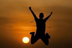 Free Images : youth, active, jump, happy, sunrise ...  Active