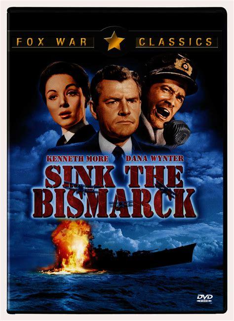 sink the bismarck movie sink the bismarck by more kenneth dvd