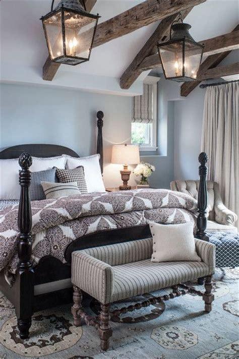 chic bedroom designs  exposed wooden beams digsdigs