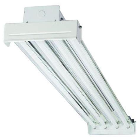 hanging fluorescent light fixtures lithonia lighting 4 light fluorescent industrial hanging