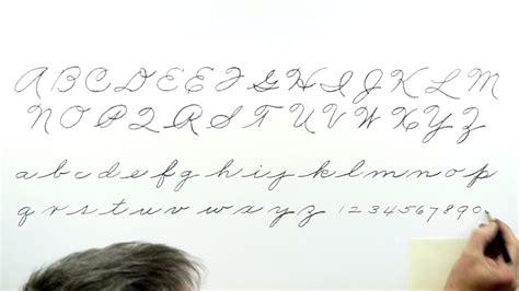 "Handwriting Tutorial ""cursive"" Youtube"