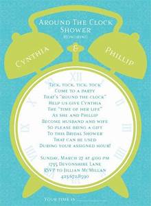 pin by jo ann kerr on wedding shower ideas pinterest With around the clock wedding shower gift ideas