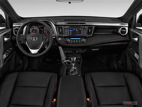 toyota rav4 interior 2018 toyota rav4 prices reviews and pictures u s news