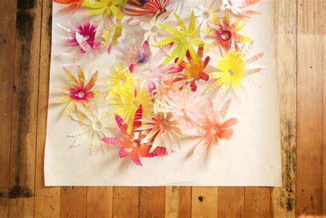 platic bloemen tips voor recycling van plastic tot meubelen en decoratie