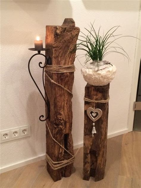 Bastelideen Fuer Idock Aus Holz by S 228 Ulen Mit Pflanzk 252 Beln Sind Echte Blickf 228 Nger F 252 R Ihr