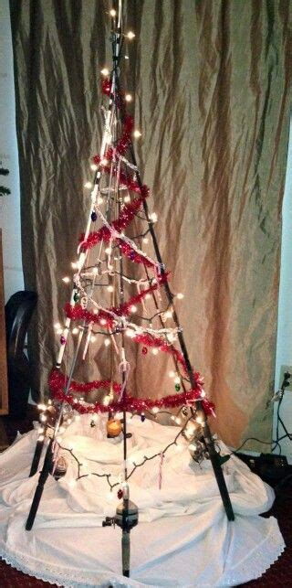 christmas tree from fishing line tutorial 25 best ideas about fishing pole craft on fishing poles fishing poles and