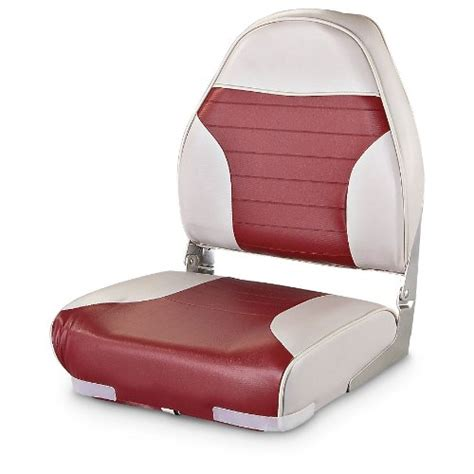 Cheap Boat Seats by Guide Gear High Back Fishing Boat Seat Grayred Cheap