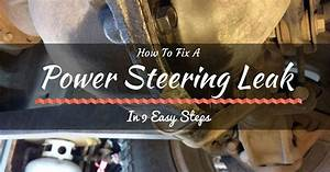 How To Fix A Power Steering Leak In 9 Easy Steps  Check It Now
