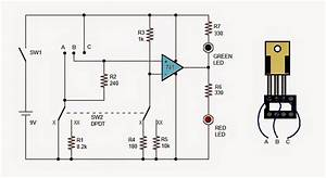 lm317 ic tester circuit With ic tester circuit