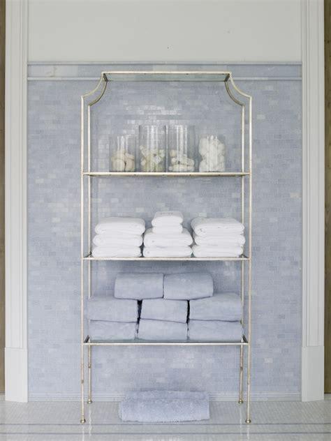 Bathroom Etagere Design Ideas