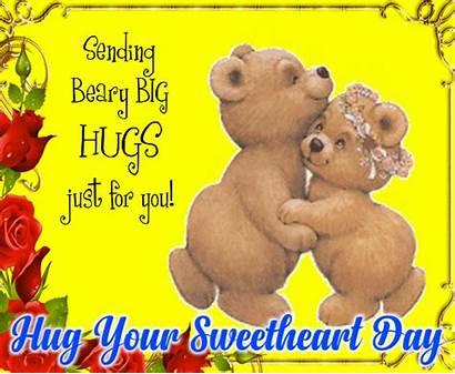 Hugs Sending Beary Hug 123greetings Sweet Messages