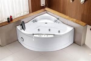 Baignoire D Angle 130x130 : salle de bain baignoire d 39 angle valencia baignoire ~ Edinachiropracticcenter.com Idées de Décoration