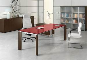 Bureau En Verre Design : mobilier de bureau mobilier contemporain et design vente et installation par ~ Teatrodelosmanantiales.com Idées de Décoration