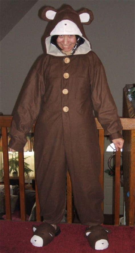 lain  bear pajamas costume cosplay