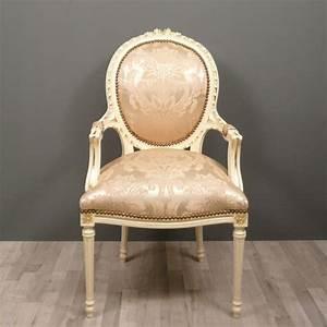 Chaise Louis Xvi : fauteuil m daillon louis xvi chaise baroque ~ Teatrodelosmanantiales.com Idées de Décoration