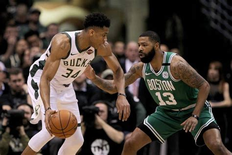 NBA Milwaukee Bucks vs Boston Celtics Spread and ...