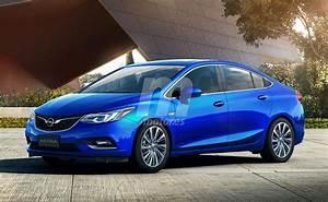 Opel Astra sedán 2017: Así será la nueva berlina alemana ...