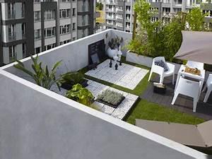 deco terrasse balcon en ville ambiance zen With decorer sa terrasse exterieure pas cher 6 terrasse zen idees et photos pour une terrasse sympa