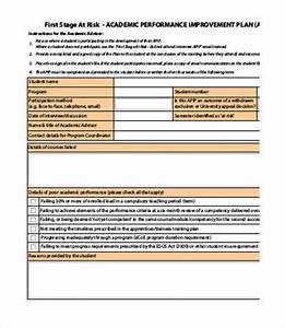 performance improvement plan template 13 free word pdf With student improvement plan template