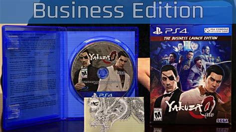 yakuza   business edition unboxing hd p youtube